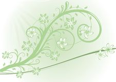 Free Floral Vector Design Royalty Free Stock Photo - 9288055