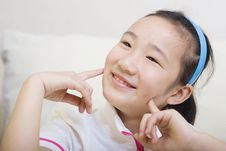 Free Chinese Girl Royalty Free Stock Image - 9288696