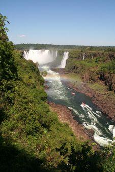 Free Iguazu Water Falls Stock Photo - 9288770