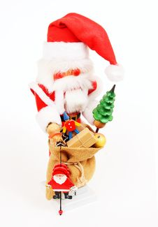 Free Santa Nutcracker Royalty Free Stock Photos - 9289538
