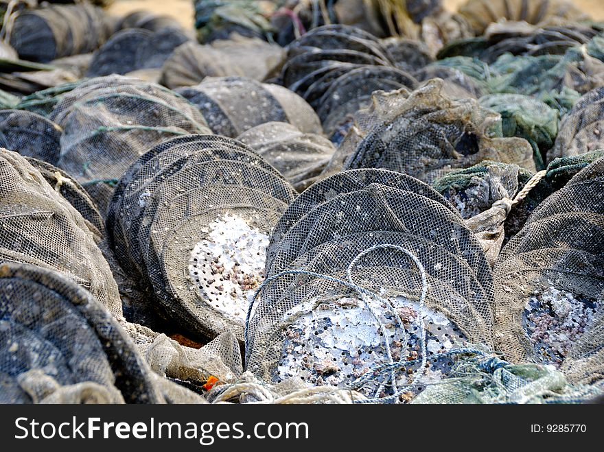 Scallop net