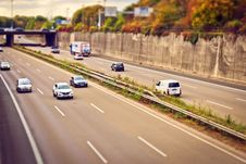 Free Cars On Freeway Royalty Free Stock Image - 92801296