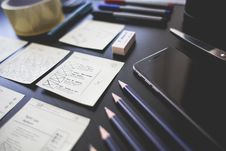 Free Office Workspace Tools Stock Images - 92801574