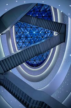 Free Futuristic Abstract Architecture Royalty Free Stock Images - 92801629