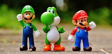Free Super Mario Action Figure Stock Image - 92881071
