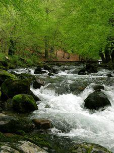 River In The Mountain Stock Photos