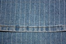Free Texture A Dark Blue Jeans Royalty Free Stock Photography - 9290317
