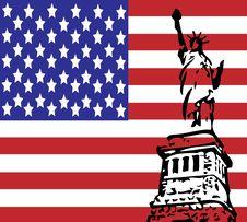 Free Usa Flag Stock Photography - 9291392