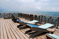 Free Tanning Benches Stock Photography - 9292362