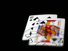 Free Time And Poker Stock Photos - 9293283