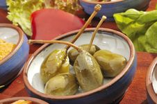 Free Mexican Speciality Marinated Capers Stock Photos - 9293343