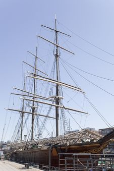 Free An Old Sailing Ship Stock Photos - 9293773