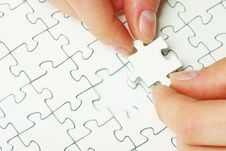 Free Puzzle Piece Stock Image - 9293891