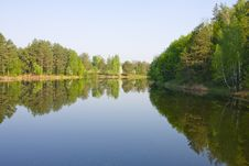 Free Spring River View Royalty Free Stock Images - 9293909