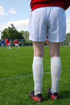 Free Legs Of Football-player Stock Photo - 9294460