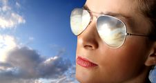 Free Sunglasses Royalty Free Stock Image - 9294516
