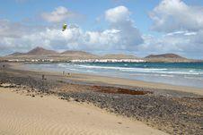 Free Famara Beach, Lanzarote Stock Photo - 9294690