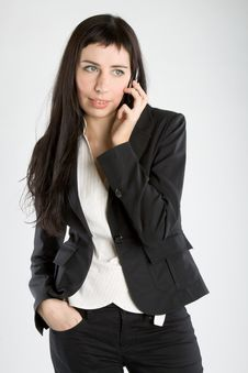 Free Young Business Woman Stock Photography - 9295792
