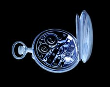 Free Inverted Old Watch Royalty Free Stock Image - 9296496
