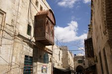 Free Street Of Old Jerusalem Royalty Free Stock Image - 9296576