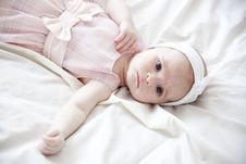 Free Newborn Girl Stock Photography - 9296592