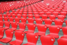 Free Stadium Seats Royalty Free Stock Photos - 9296818