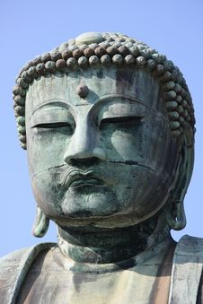 The Great Buddha, Kamakura Stock Image