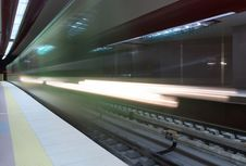 Free Subway Station Royalty Free Stock Photo - 9297445