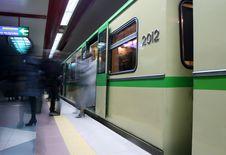 Free Subway Station Stock Image - 9297471
