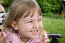 The Little Girl. Stock Image