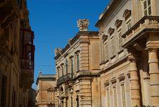 Free Mdina Street, Malta Stock Photo - 9298460