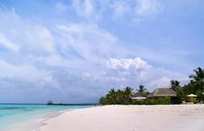 Free Exotic Resort In Maldives Stock Image - 9298911