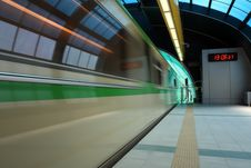 Free Subway Station Royalty Free Stock Image - 9299116