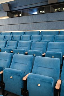 Free Cinema Interior Stock Image - 9299301