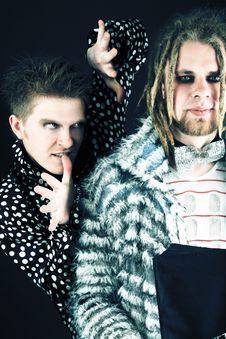 Free Grunge Men Royalty Free Stock Images - 9299329