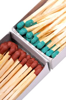 Free Matchsticks Closeup Stock Images - 9299344
