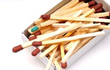 Free Matchsticks Royalty Free Stock Photography - 9299447