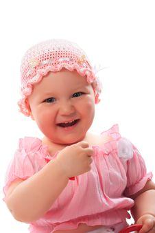 Free Pink Girl Stock Image - 9299821