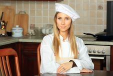 Free Portrait Of A Cook Royalty Free Stock Image - 9299836