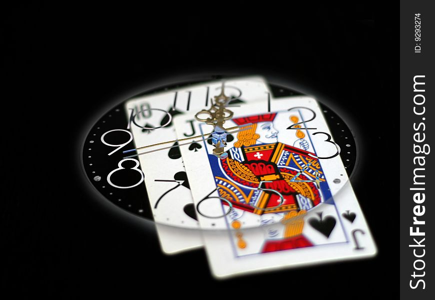 Time And Poker Free Stock Images Photos 9293274 Stockfreeimages Com