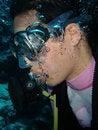 Free Air Diver Royalty Free Stock Photo - 934205
