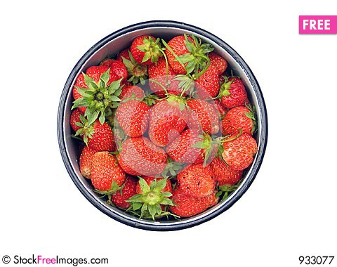 Free Strawberries Royalty Free Stock Photography - 933077