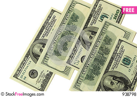 Free Money Royalty Free Stock Photos - 938798
