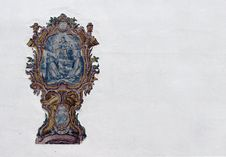 Sacred Fresco Royalty Free Stock Photo