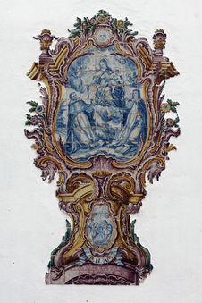 Sacred Fresco Royalty Free Stock Photos