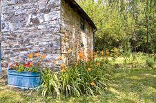Stone Cottage - 3 Stock Photo