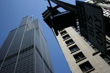 Free Sears Tower Royalty Free Stock Images - 931649