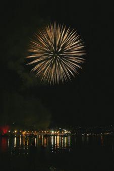 Free Fireworks Display Stock Image - 931901