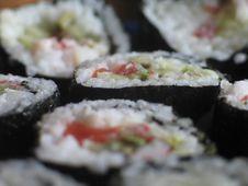 Free Sushi Maki Royalty Free Stock Images - 932159