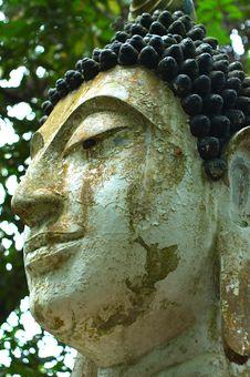 Free Sitting Buddha On Mountain In Thailand. Stock Image - 932261